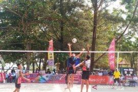 Atlet Voli Pasir pasangan putra dan putri Babel berhasil masuk delapan besar