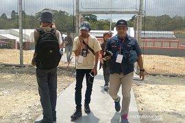 """Wartawan aksi  """"walk out"""" saat kunjungan Menkumham di Nusakambangan"""