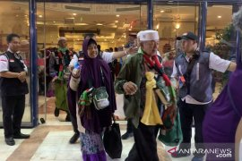 Secara berangsur 43.000 haji Indonesia telah kembali ke Tanah Air