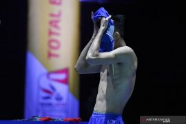 Jonatan Christie gagal raih target semifinal Kejuaraan Dunia 2019