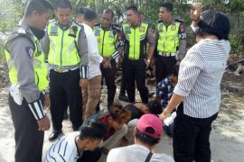 Aksi kejar-kejaran polantas untuk tangkap pengedar narkoba