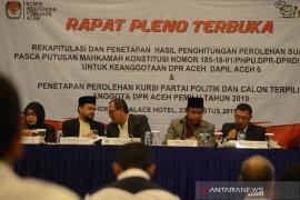 Rapat pleno Partai Aceh raih kursi terbanyak