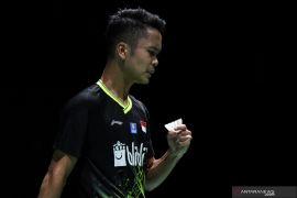 Ginting dan Shesar maju ke babak dua Korea Open