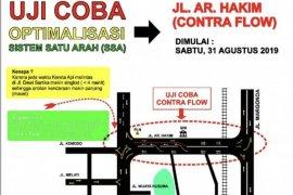 """Dishub Depok akan uji coba """"contra flow"""" Jalan ARH"""