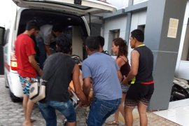 Saat menyelam, Turis Spanyol tewas terkena baling-baling perahu  motor