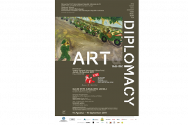 """Pameran """"Art & Diplomacy"""", sisi lain sejarah perjuangan Indonesia"""