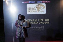 Bupati Lebak dapat penghargaan Kepala Daerah Inovatif 2019