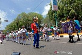 Ratusan regu meriahkan Pawai dan Karnaval Pembangunan 2019