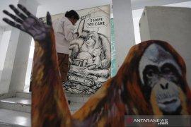 Wujud keprihatinan terhadap orangutan hope