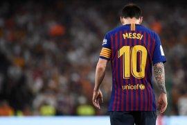 Messi terpaksa absen dalam laga Barcelona lawan Betis