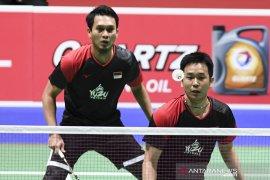Usai dikalahkan Lee/Wang, Hendra/Ahsanlolos ke semi final