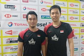 "Hendra/Ahsan menangi ""All Indonesian Match"" demi capai final"