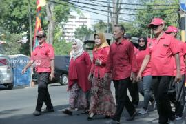 Juru kemudi perempuan damkar jadi anggota DPRD Surabaya 2019-2024