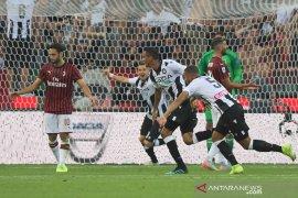 Milan buka musim dengan kekalahan di markas Udiness
