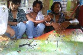 Tertangkap nyabu di kebun jagung, tiga pemuda ini tak berkutik ditangkap polisi