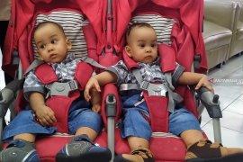 Pascaoperasi pemisahan, bayi kembar siam Adam dan Malik dipulangkan