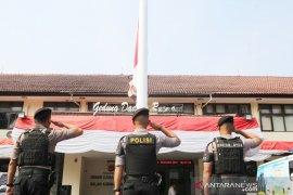 Ipda Erwin yang terbakar saat demo mahasiswa Cianjur akhirnya wafat