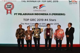 IPC raih penghargaan di ajang Top Governance, Risk & Compliance Award 2019