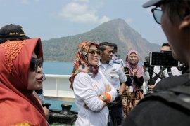 Chusnunia Chalim Ikut Semarakkan Kegiatan Trip Krakatau