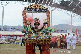 Pembukaan Olimpiade Olahraga Siswa Nasional di Aceh