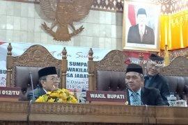 Bupati Aceh Barat harapkan anggota dewan baru giat suarakan  hak rakyat