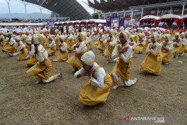 Tarian kolosal meriahkan pembukaan O2SN 2019 di Aceh