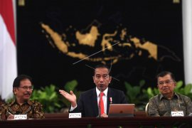 Presiden umumkan pemindahan ibu kota negara