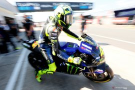 Rossi dan Vinales tak khawatir cuaca hujan di Aragon