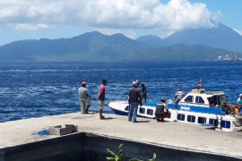 BMKG : perairan Halmahera dilanda gelombang tinggi
