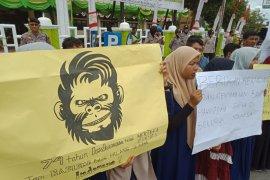 Mahasiswa Aceh Barat desak penangkapan pelaku persekusi terhadap mahasiswa Papua