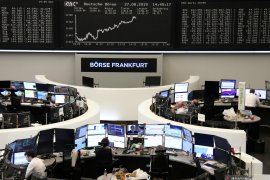 Indeks DAX-30 Jerman menguat 1,15 persen