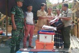 Pemkab Aceh Utara bantu korban rumah terbakar di Sido Mulyo