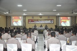 Jelang Pilkades 226 desa, Polda Banten pembekalan Babinkamtibmas