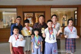Tujuh siswa Denpasar berkompetisi di Olimpiade Matematika, Hong Kong