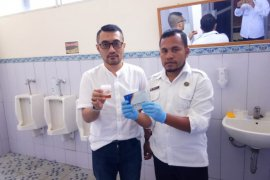 Sejumlah balon Bupati dan Wali Kota di Malut tes urine