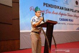 40 perwakilan PO Provinsi Riau dibekali etika dan keselamatan berlalu lintas