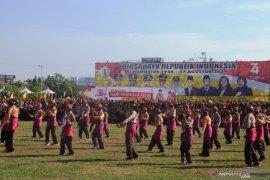 Ribuan pelajar ikuti Peringatan Hari Pramuka ke-58