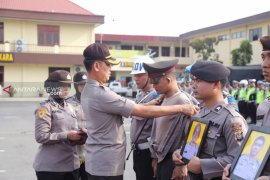 Desersi dan terlibat narkoba, 4 personel polisi di Medan dipecat