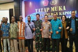 Panglima TNI dan Kapolri lakukan pertemuan tertutup dengan tokoh Papua