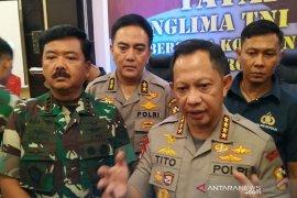 Panglima TNI-Kapolri bertemu tokoh masyarakat Mimika dan Jayawijaya