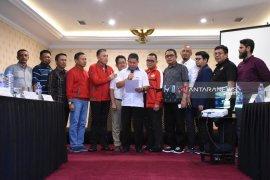PSSI se-Kalimantan deklarasikan dukungan kepada Mochamad Irawan sebagai Ketum PSSI