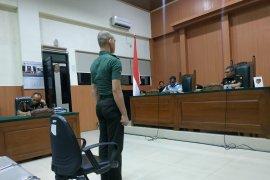 Hakim minta dua minggu untuk vonis Prada DP terdakwa pembunuhan dan mutilasi di Sumsel