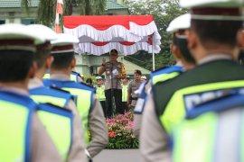 Kapolda Kalbar pimpin apel Operasi Patuh Kapuas 2019