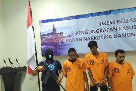 Tiga kurir narkoba Jaringan Aceh ditangkap  BNNP Bali
