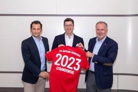 Lewandowski bakal bersama Bayern Munchen sampai 2023