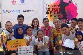 Kejuaraan Jakarta Squash Open diharapkan tingkatkan peminat