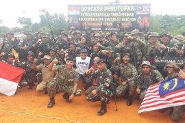 4 pos gabungan bersama Pamtas Indonesia - Malaysia di Nunukan