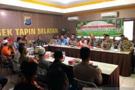 Polres Tapin rapat persiapan Haul ke 254 Datu Sanggul