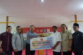 Kembali Bantu Korban Gempa Halsel, Harita Group Salurkan Rp1,5 Miliar