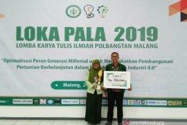 Polbangtan Medan juara 3 lomba tulis ilmiah tingkat nasional